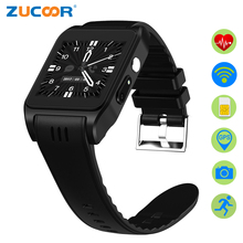 ZUCOOR Smart Watch Android Relogio RW22 Sport Health Touch Watches Mobile Phones With Camera GPS Smartwatch Heart Rate Monitor