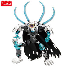 2 Boxes Chimaed Fire Phoenix King Master Tiger 816 action figure Building Block best gift for boy Compatible With Legoing(China)