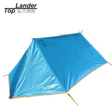 DIY Waterproof Camping Tent Breathable Ultralight Mosquito Net Tent A Tower Tarp Tent Shelter Ultralight Hiking Single Tents(China)