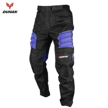 DUHAN 2017 Men's Motorcycle Pants Oxford Cloth Moto Racing Trousers Motocross Off-Road Pants Sports Knee Protective(China)