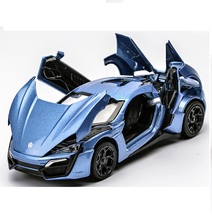 Alloy Lacon car model, good quality,nice design,strong body, 1:32 Die cast model, Metal car collection