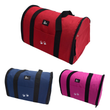 Breathable Pet Dog Cat Bag Waterproof Oxford Puppy Dog Carrier Bag Portable Travel Carrier Case Cage Dog Handbag Shoulder Tote(China)
