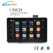 7 inch GPS Car Navigation HD 800*480 pixels screen DVR recorder camera AV-IN FM Free Maps Russia/ Europe/ USA/Canada