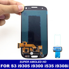 For Samsung Galaxy S3 i9300 i9305 i535 i747 L710 T999 i9300i i9301 i9301i i9308i LCD Display Touch Screen Digitizer Replacement(China)