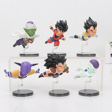 anime Dragon ball Z figure DBZ The Historical Characters WCF Trunks son Goku Gohan super saiyan PVC Juguetes Brinquedos Dolls
