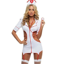 Buy Sexy Nurse Costumes Cosplay Lingerie Woman Porn Dress Nurse Uniform Cosplay Lingerie Female Lingerie Hot Erotic Lingerie