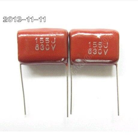 100% brand new original CBB capacitor 630 v 155 j 1.5 UF 1500 nf<br><br>Aliexpress