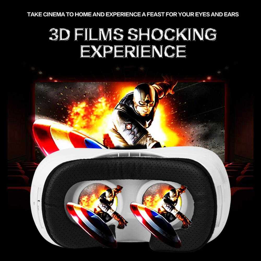 Headset virtual reality 3D glassess Quad Core ARM Cortex Android 5.1 2GB 16GB support wifi bluetooth vr box BT4.0 + Control