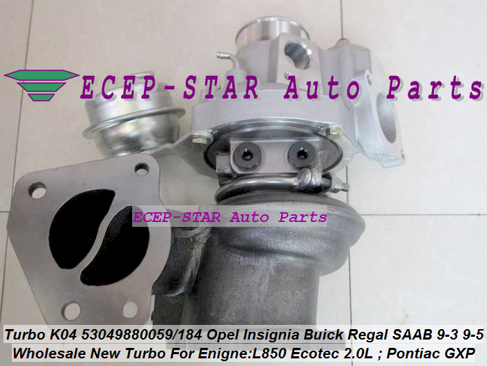 K04 53049880059 53049880184 Opel GT Insignia Pontiac Solstice GXP SAAB 9-3 9-5 L850 (1)