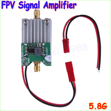 Wholesale 1pcs 5.8Ghz FPV Transmitter RF Signal Amplifier amp For Airplane Helicopter Model