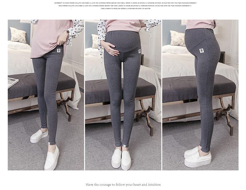 Plus Size Winter Velvet Pregnancy Leggings Pants For Pregnant Women Maternity Leggings Warm Clothes Thickening Trousers Clothing 8