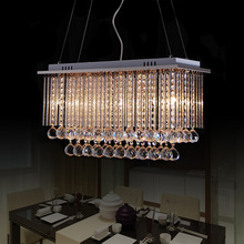 Crystal combinatio 60cm k9 first level crystal pendant light living room lights restaurant lamp dining table bar lamps Free ship(China)
