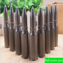 1 Pc Ballpoint Pens Students Stationary Pens Office School Supplies Plastic Cartoon Bullet  Rotary Type Ball Pens 1.0mm