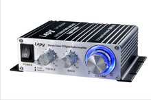 2017 lepy LP-168S Lepy LP - 2020A Mini Audio 2*20W HiFi Stereo Amplifier with Over-current Protection(China)