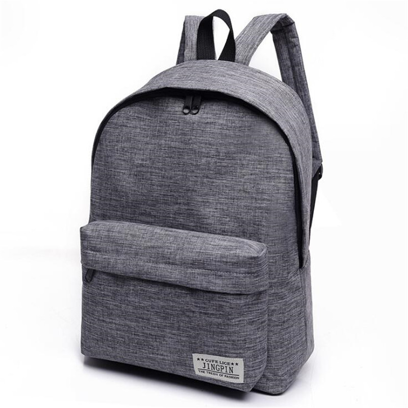 2017 Men Canvas Backpack College Student School Backpack Bags Casual Rucksack Travel Daypack Women Computer Laptop Bag ZD583<br><br>Aliexpress