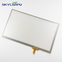 skylarpu 7 inch New for GARMIN CAMPER 760LM GPS Navigation Touch Panel 164*99mm Free shipping(China)