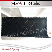 Free shipping 4x8m new product ideas christmas led lights star curtain