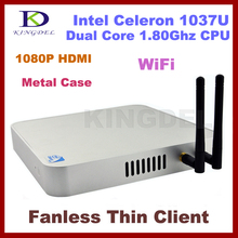 2GB Ram& 500GB HDD, Fanless thin client terminal,Mini Desktop Intel Celeron/Pentium Dual Core,1.8Ghz,1080P HDMI,Windows 7 WIFI