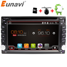 Eunavi Universal 2 Din Android 6.0 Car Dvd Player GPS+wifi+bluetooth+radio+quad Core+ddr3+Capacitive Touch Screen+car Pc+stereo(China)