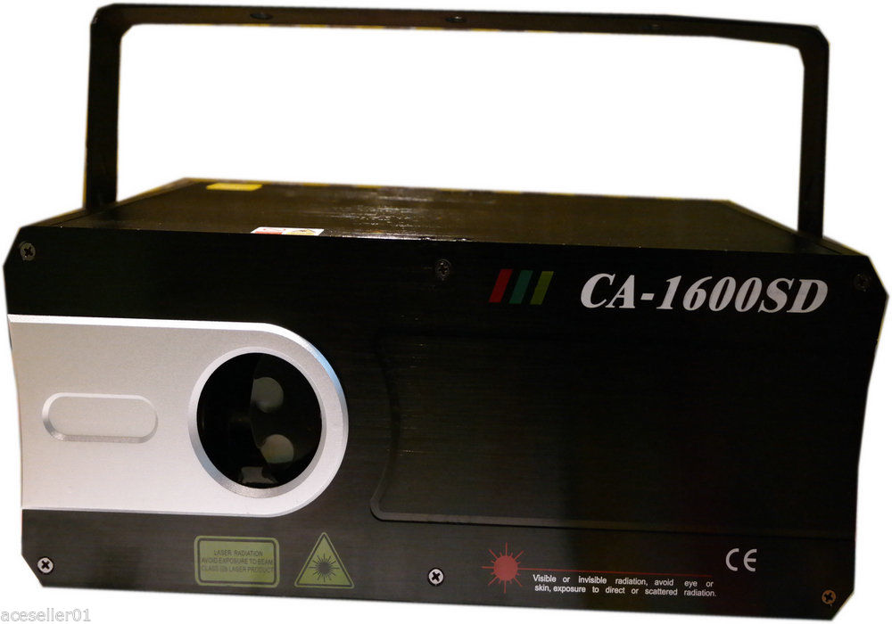 1.5W Laser Light Show Projector 3D Full Color Lasers ILDA theatrical concert DJ (3)