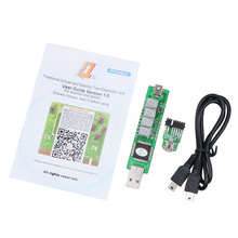 kebidumei For PCMCIA Notebook Battery Test Adapter 4 LED SM BUS Computer Mainboard POST Diagnostic Card For IBM T500 X200 W500