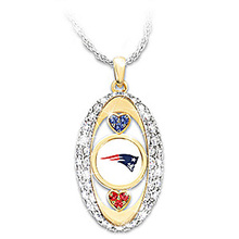 New England Patriots Pride Pendant championship Necklace drop shipping  Football team logo sports jewelry best christmas gift