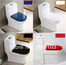Bidet Toilet Slow- Close Toilet Seats Cover Picture Thickening Child Adult Seat(China)