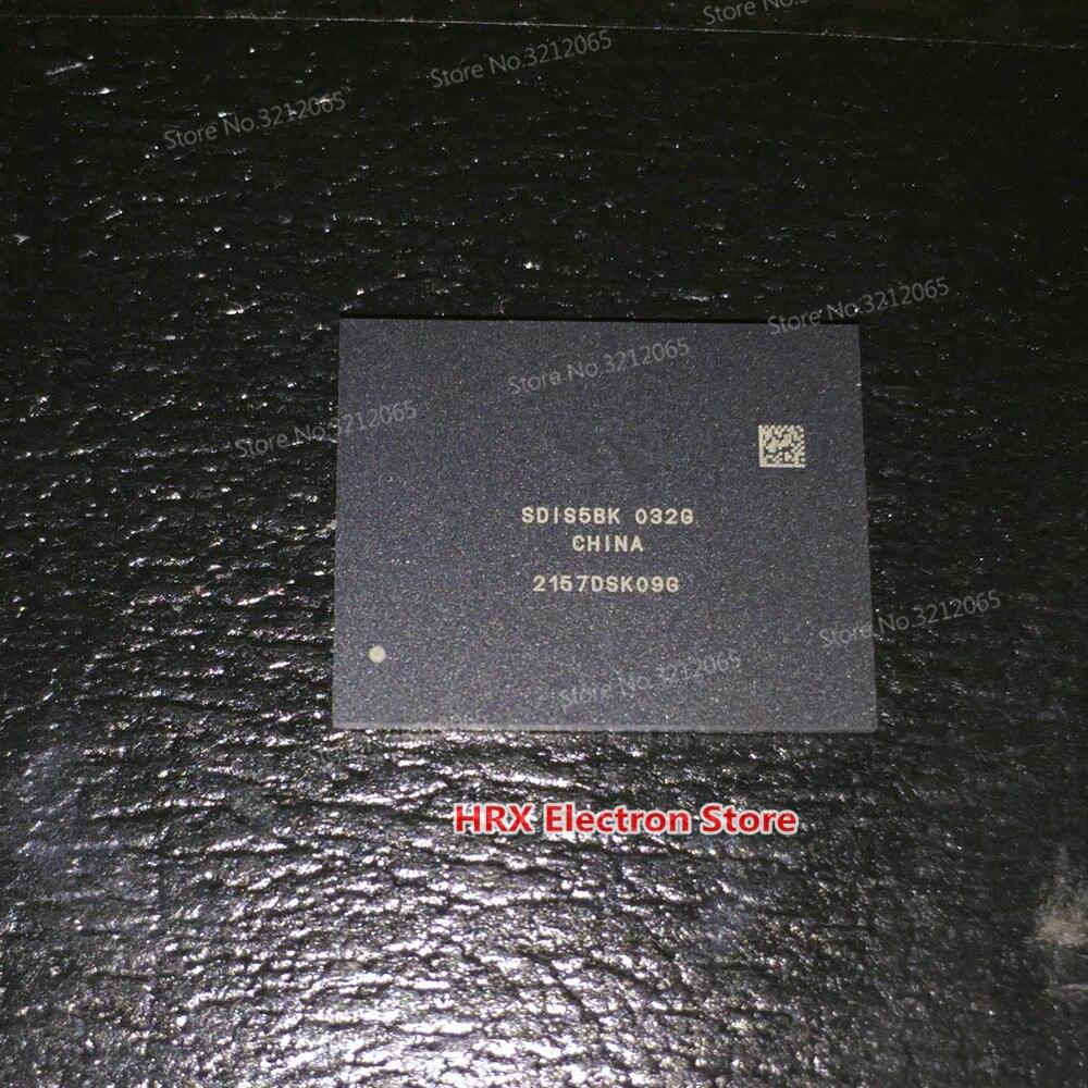 100% New Original SDIS5BK-032G BGA EMMC SDIS5BK 032G<br>