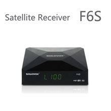 6PCS SOLOVOX F6S +6pcs WIFI dongle Satellite Receiver/ TV Box Support 2 USB WEB TV Card Sharing CCCAM/NEWCAM Youporn