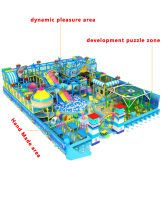 development puzzle soft playground and hand made games for kids indoor castle toy factory manufacturer YLW-IN17006A