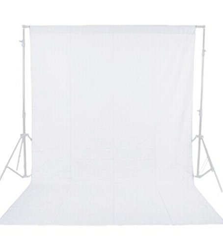 Neewer 3x3.6M Professional Photo Studio 100% Pure Cotton White Muslin Collapsible Background Screen Muslin Backdrops For Sale<br>
