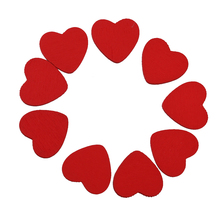 Buy 100Pcs Decorative Wooden Red Heart Tape Sticker Love DIY Craft Wedding Home Living Room Party Home Decoration Gift for $2.85 in AliExpress store