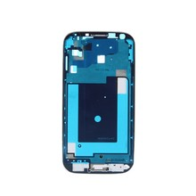 For Samsung Galaxy S4 I9500 I9505 I337 i545 L720 R970 Front Housing Mid Cover Frame Bezel Silver(China)