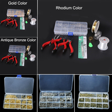 Jewelry Tools set Equipments DIY fashion Wholesale JEWELLERY MAKING KIT, BEADS/FINDINGS/PLIERS Fit jewelry findings ZH-BDH010
