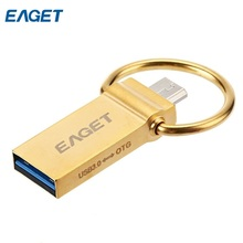 EAGET V90 USB 3.0/U90 USB 2.0 Flash Drive OTG Pen Drive 16 GB 32 GB 64 GB Micro USB Stick Storage Memory 64GB On Promotion