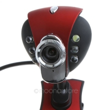 New USB 2.0 50.0M 6 LED PC Camera HD Webcam Camera Web Cam with MIC for Computer PC Laptop USB 2.0 LED Camera PC