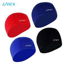 Comfortable Polyester Swimming Cap with quick dryingtech,silky feel and good elasticity,three colors to chooseAJ030(China)