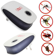 Superior Pest Control Machine Ultrasonic Electro Magnetic Drive Pest Midge Rat Control Device Wireless sensor Mosquito Repeller(China)