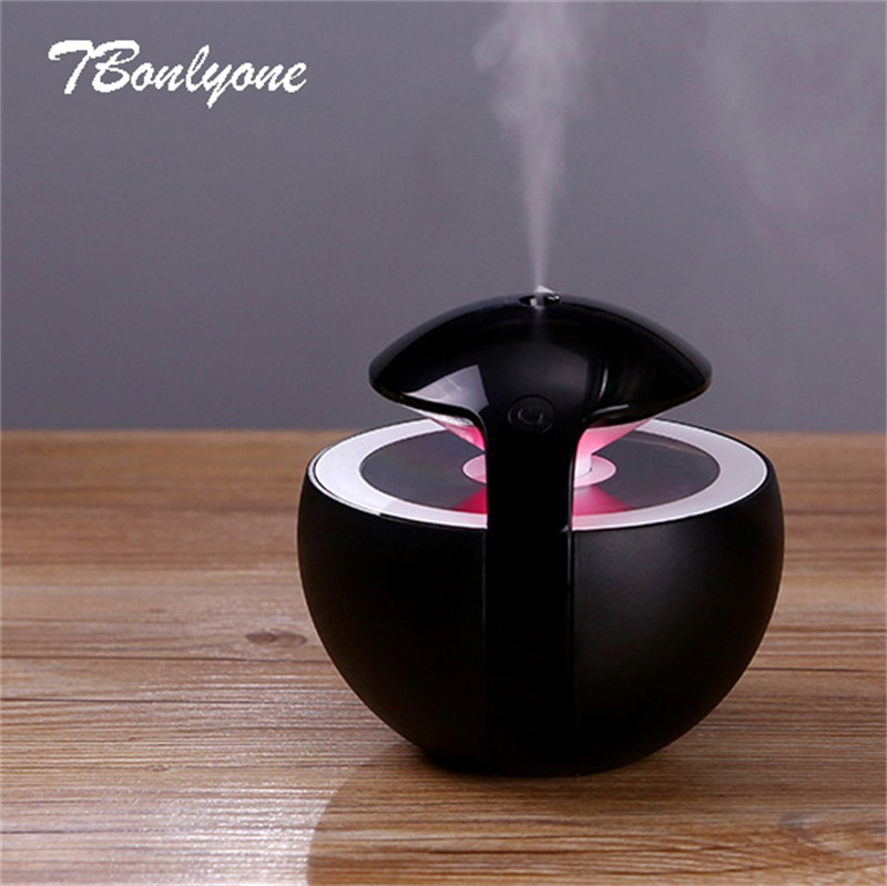 TBonlyone 450ML Large Capacity Humidifier for Whole Night Water Soluble Oil Aroma Diffuser Electric Ultrasonic Air Humidifier(China)