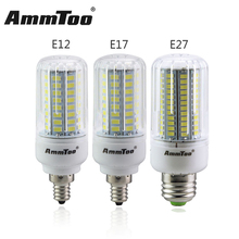 SMD 5736 LED Light Bulb E27 E17 E12 Lampada Led Lamp 3W 5W 7W 9W 12W 15W 220V 110V 120V Lamparas LED More Bright than 5730 5733(China)