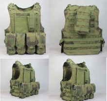 Military Vest Molle Tactical Vest Army fans amphibious vests A-TACS FG Color PRO MOLLE VEST