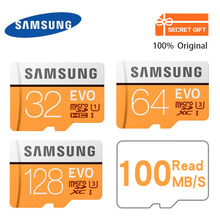 Buy SAMSUNG Memory Card 128Gb 32GB 64GB 100Mb/s Class10 U3/U1 Micro SD Card Flash TF Microsd Card Mobile Phone SDHC SDXC for $5.08 in AliExpress store