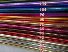 Wholesale 0.6mm thickness Foil leather pu leather fabric / sofa leather purses Furnishing fabrics B012(China)