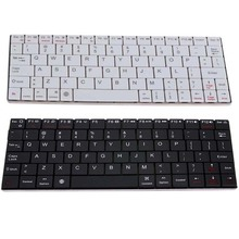 Aluminum UltraSlim Mini Wireless Rechargeable Bluetooth Keyboard for Windows Android IOS PC