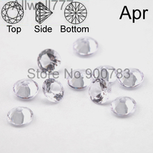 Higher quality 5mm rhinestone floating locket charms,Cupid stone,April charms
