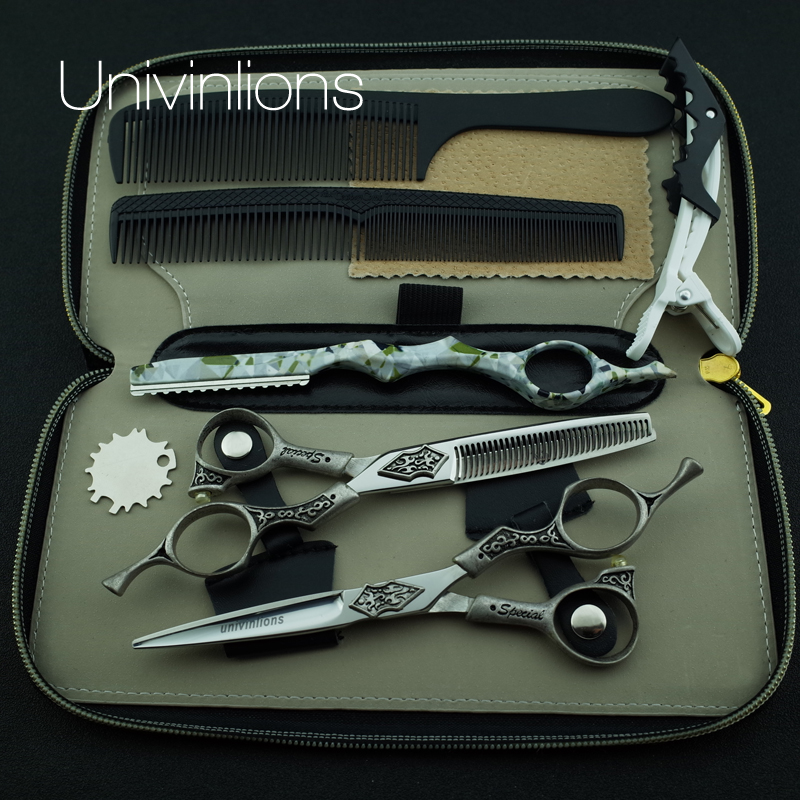 6 special design japanese scissors hairdresser razor hairdressing scissors cutting scissors thinning shears hair cut sissors<br>