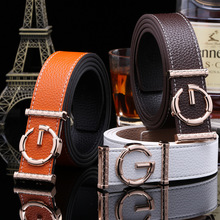 2017 Brand belts cummerbunds women G Belt Genuine Leather belt tactical Strap automatic Fashion boss leather men belts buckle
