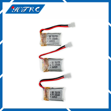 3pcs 3.7 V 150 mAh Drone Quadcopter Lipo Battery 701725 For Eachine H8 JJRC H8 Mini Syma S107g X2 Nihui U207 H2(China)