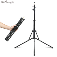 Photo 2.1m 5 Section folding Light Stand Tripod With 1/4 Screw Head For Photo Studio Softbox Video Flash Umbrellas Reflect
