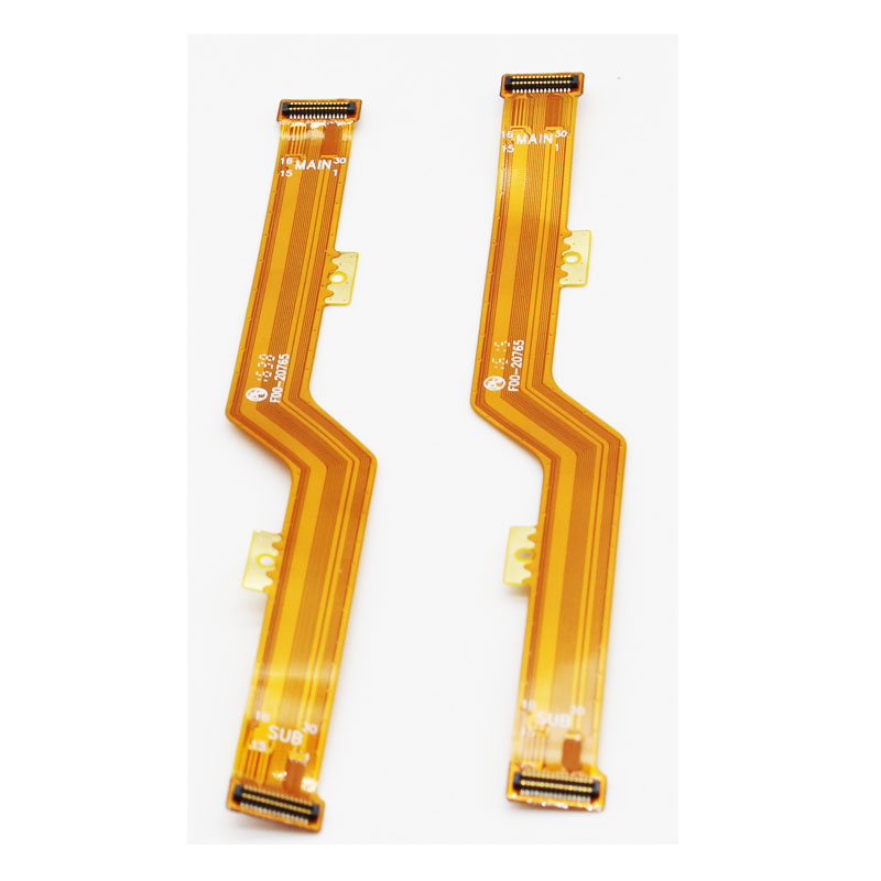 10 pcs/lot Main Motherboard Connector Flex Cable Connector Main Ribbon Replacement For TECHNO C9 LCD(China)